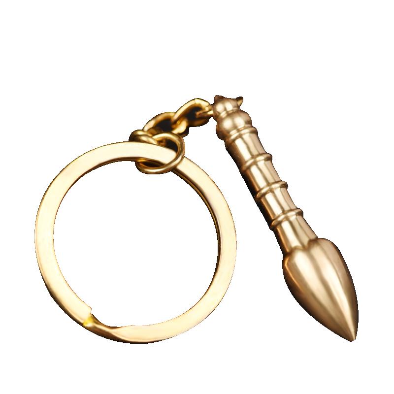 【和堂悦舍】全铜文昌笔钥匙扣(拍第一款)券后5.1元包邮