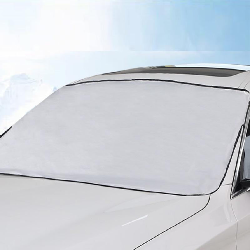 汽车遮雪挡防霜防冻加厚车罩劵后1.8元包邮