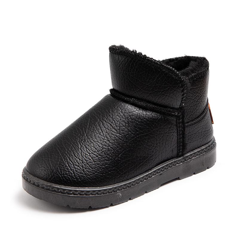 儿童雪地靴2021新款冬季加棉棉鞋券后24.9元包邮