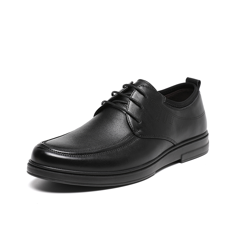 红蜻蜓 WTA40800 男款商务休闲皮鞋 38-44码